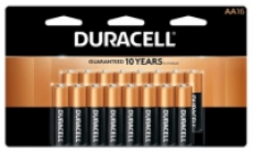16-Pk Duracell Coppertop Batteries (AA/AAA) + 100% Back in Rewards