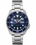 Seiko 5 Men's Automatic Watch w/ Stainless Steel Bracelet
