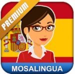 Learn German Spanish Russian & More w/ MosaLingua Premium (Android or iOS App)