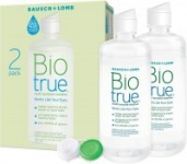 2-Pack 10oz. Biotrue Bausch + Lomb Contact Lens Solution (Soft Lenses)