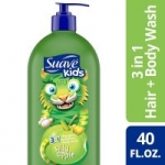 40-Oz Suave Kids 3-in-1 Shampoo Conditioner Bodywash (Apple or Watermelon)