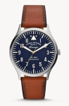 Fossil: Men's Forrester Three Hand Luggage Leather Watch
