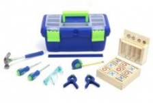 Create & Learn 9-Piece Children's Tool Set w/ 2 Project Kits