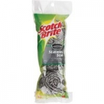 3-Pack Scotch-Brite Stainless Steel Scrubbers