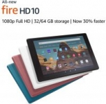 Prime Members: 32GB Amazon Fire HD 10 Tablet w/ Special Offers