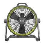Ryobi ONE+ 18 Volt Hybrid 18″ Air Cannon Drum Fan (Factory Blemished)
