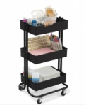Lexington 3-Tier Rolling Carts (Various Colors)
