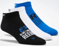 3-Pair Reebok Women's Run Club Socks or Foundation Invisible Socks