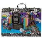 37-Piece Cra-Z-Art Timeless Creations Adult Coloring Set w/ Case