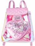 Girls' Mini Backpacks: Glitter Unicorn $9.90 Shakey Iridescent