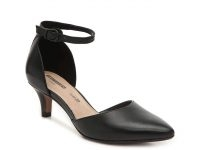 DSW Women's Dress Shoes + 50% Off: Clarks Linvale Edyth Leather Pump