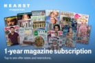 T-Mobile Customers: 1-Year Hearst Magazine Print Subscription