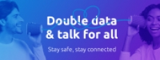 Tello Customers: Double Plan Data & Talk