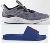 adidas Men's Alphabounce Shoes + Adilette Shower Slides
