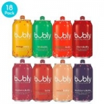 18 pack bubly Sparkling Water 8 Flavor Berry Bliss Variety Pack 12 fl oz. cans: $5.61 or less w/S&S