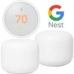Google Nest Wi-Fi Mesh Router: w/ Nest Hello Doorbell $319 or Nest Thermostat E