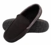 London Fog Women's LFW Mitten Boots $15 Textured Venetian Loafer Slippers