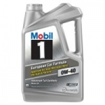 Walmart: Mobil 1 Advanced Full Synthetic Motor Oil 0W-40, 5 qt. for $22.88. Free Shipping.