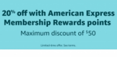 Select Amex MR Cardholders: Pay w/ Points, Get