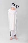 Down Home Kids' 40″ x 50″ Hooded Throw Blanket (Panda)