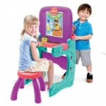 Crayola Kid's Art N Activity Studio Convertible Easel/Desk w/ Stool