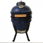 Lifesmart Ceramic 15″ Blue Kamado Ceramic Grill Bundle
