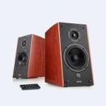 Edifier R2000DB 2.0 Active Bluetooth Bookshelf Speakers (Wood Finish)