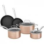 BJ's Wholesale Members: 8-Pc KitchenAid Hard Anodized Non-Stick Cookware Set