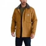 Carhartt Men's Cotton Full Swing Chore Coat (Brown or Black)