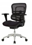WorkPro 12000 Mesh Mid-Back Office Chair (Black)