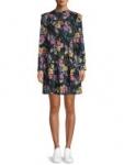 Women's Apparel: Time and Tru Chevron Shirt $4.50 Ruffle Dress