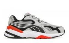 Puma Men's Axis Supr Sneaker (Grey/Red)