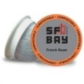 80-Count SF Bay Coffee French Roast K-Cup Coffee Pods
