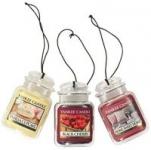 3-pack Yankee Candle Car Jar Hanging Air Freshener (Various Scents)