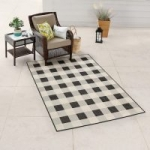 5′ x 7′ Sonoma Goods for Life Buffalo Check Indoor / Outdoor Area Rug