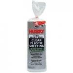 Husky 6 Mil Heavy Duty Clear Plastic Sheeting (10′ x 25′)