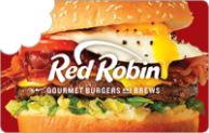 $50 Red Robin eGift Card (Email Delivery)
