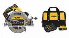 DeWALT 20-Volt MAX Li-ion Brushless 7-1/4″ Circular Saw + 5.0Ah Battery Kit