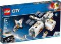412-Piece LEGO City Space Lunar Space Station Building Set w/ Toy Shuttle