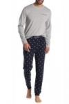 Lacoste 2-Piece Long Sleeve T-Shirt & Lounge Joggers Pajama Set