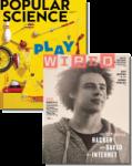 Magazines: Sound & Vision $5.75/yr Wired & Popular Science Bundle