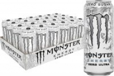 24-Pack 16oz Monster Energy Drink (Zero Ultra)