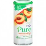 5-Count Crystal Light Pure Peach Iced Tea Drink Mix Pitcher Packs