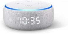 Echo Dot Smart Speaker w/ Clock & Alexa (3rd Generation Sandstone)