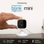 Blink Mini Indoor Wired 1080p Wi-Fi Security Camera