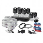 Swann 8-Ch Security System w/ 8x 4K Bullet Cameras 2TB DVR Night Vision & More