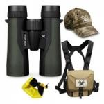 Vortex 10×42 Crossfire HD Roof Prism Binoculars w/ GlassPak Harness Case & More
