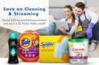 Amazon: Spend $20+ on select Laundry & Cleaning Products Get $5 Prime Video Credit
