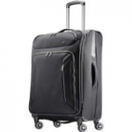 American Tourister Zoom Expandable Softside Spinner Luggage: 28″ $59 or 25″