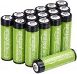 16-Pack AmazonBasics AA 2000mAh Rechargeable Batteries